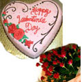 send gifts to bangladesh, send gift to bangladesh, banlgadeshi gifts, bangladeshi Rose & Cake Combo
