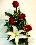 send gifts to bangladesh, send gift to bangladesh, banlgadeshi gifts, bangladeshi China Rose & Thailand Lily