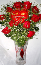 send gifts to bangladesh, send gift to bangladesh, banlgadeshi gifts, bangladeshi Rose & Valentine Stick