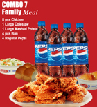 send gifts to bangladesh, send gift to bangladesh, banlgadeshi gifts, bangladeshi KFC-8pcs Family Combo