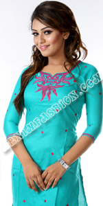 send gifts to bangladesh, send gift to bangladesh, banlgadeshi gifts, bangladeshi Linen Short Kameez