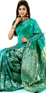 send gifts to bangladesh, send gift to bangladesh, banlgadeshi gifts, bangladeshi Tangail Half Silk Saree