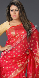 send gifts to bangladesh, send gift to bangladesh, banlgadeshi gifts, bangladeshi Magenta Silk Saree