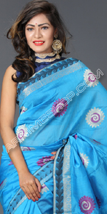 send gifts to bangladesh, send gift to bangladesh, banlgadeshi gifts, bangladeshi Half Silk Sari
