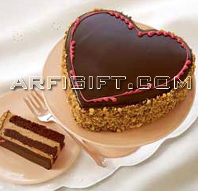 Send Black Forest Heart  to Bangladesh, Bangladesh Newspaper, Bangladeshi gift, send gifts to bangladesh, send gift to bangladesh